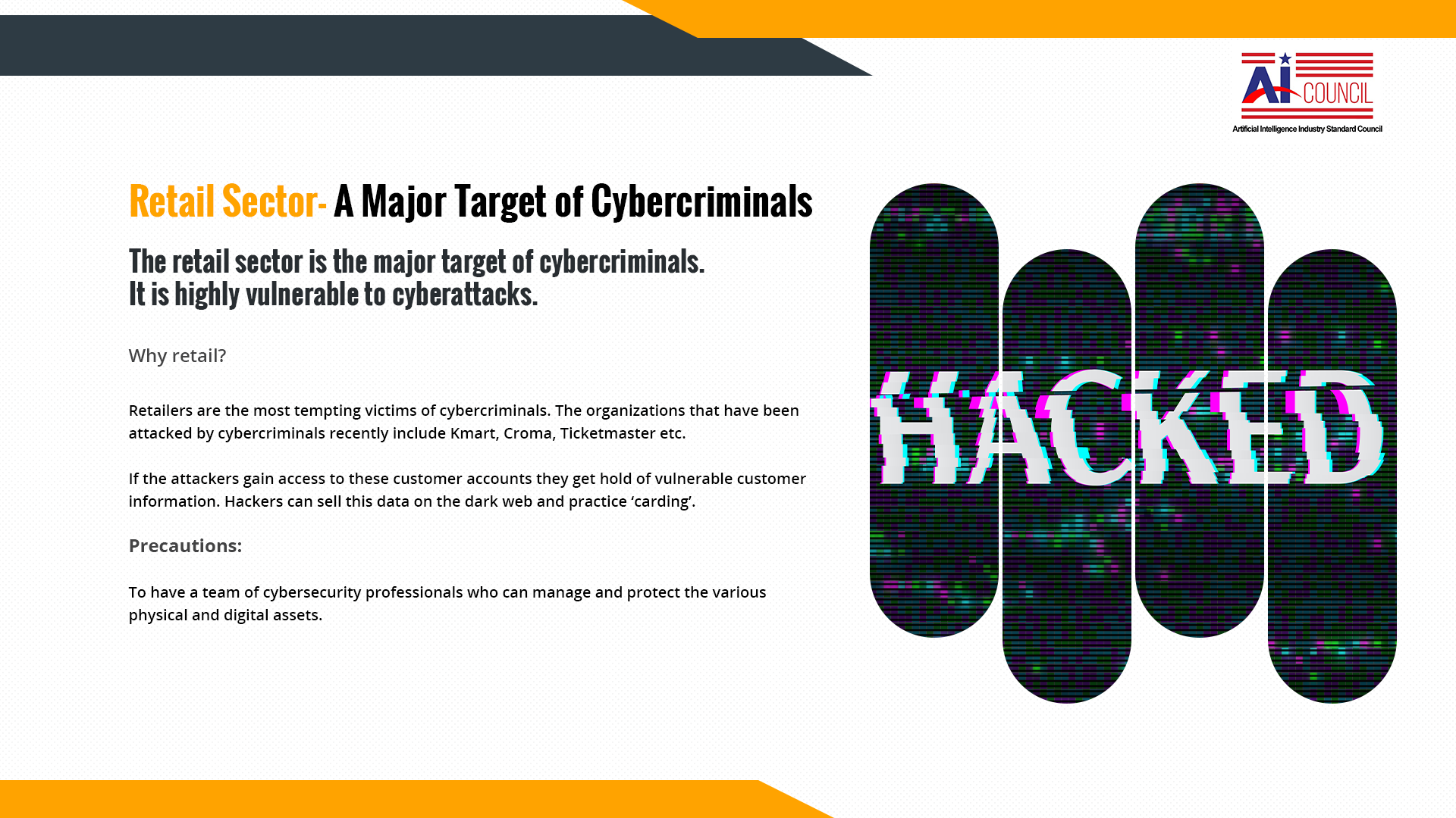 Retail Sector-A Major Target of Cybercriminals